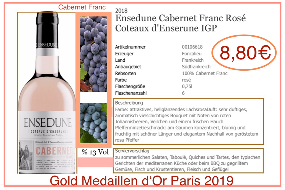 Ensedune Cabernet Franc / Languedoc - Arsen