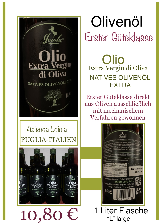 """OLIO""- Olivenöl/Azienda Loiola"