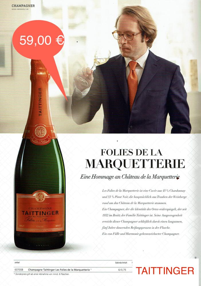 Taittinger-Champagner