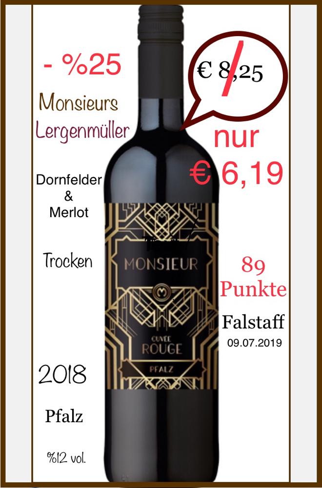 """Monsieur"" 2018 -Pfalz"