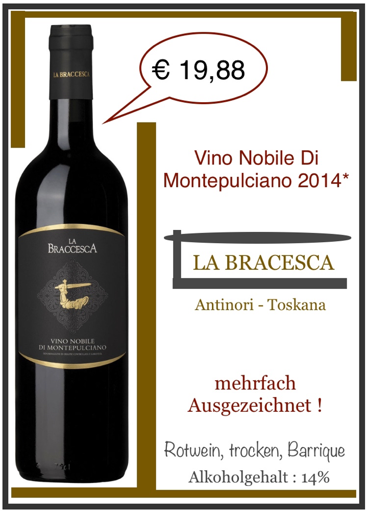 Bono Nobile Di Montepulciano - La Bracesca