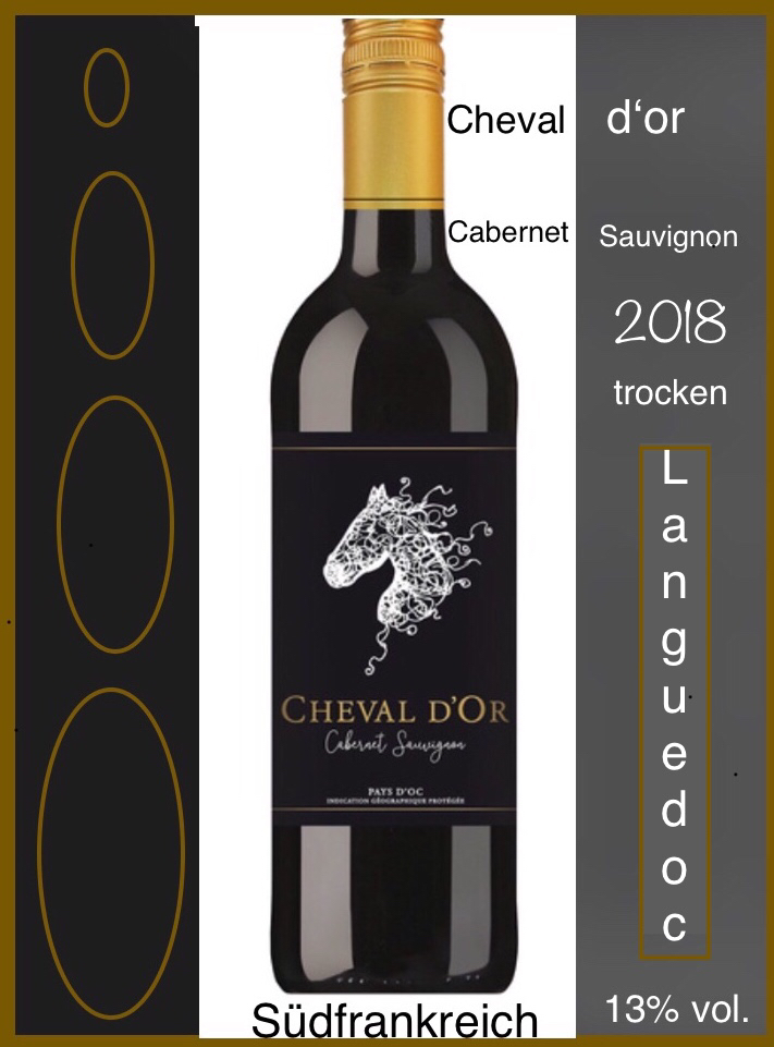 Cheval d'or