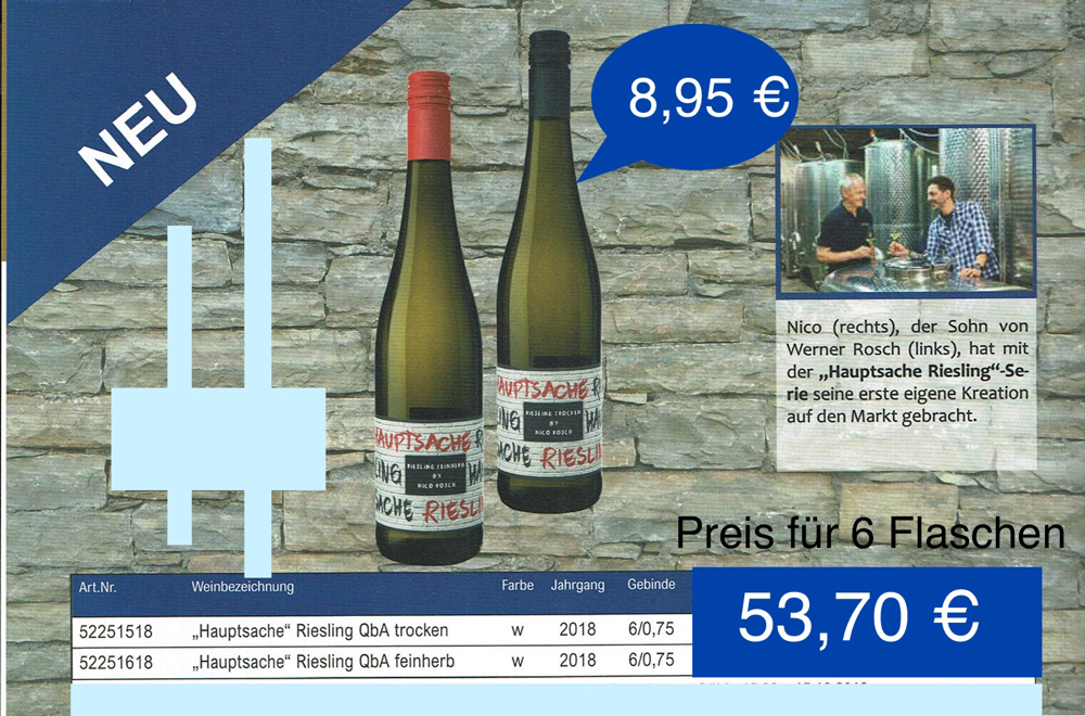 """Hauptsache"" Riesling-Mosel"