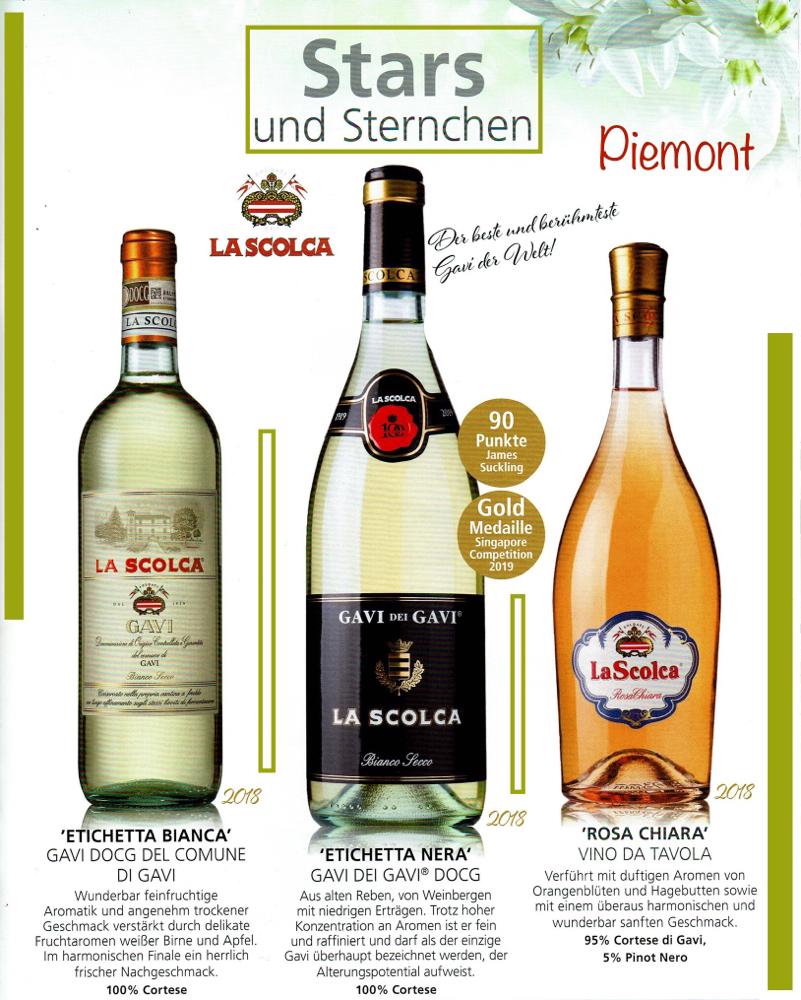 GAVI-La Scolca (der beste Gavi- Erzeuger), Piemont