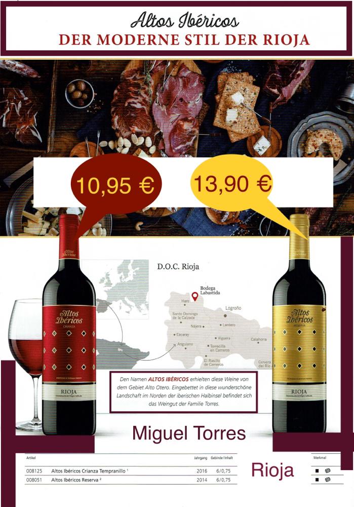 Altos Ibericos Rioja- Miguel Torres
