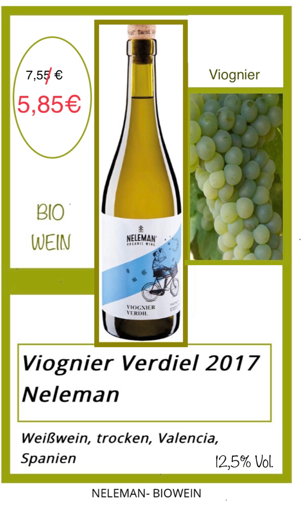 Viognier Verdiel 2017- Neleman