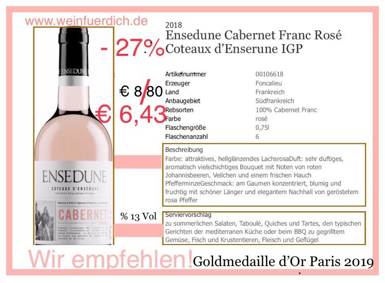 """""""Ensedune"""" Rose'-Südfrankreich"""