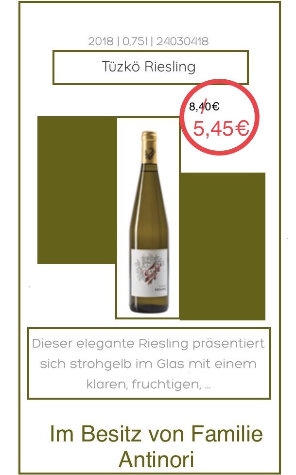 """Riesling"" 2018- Tüzkö"