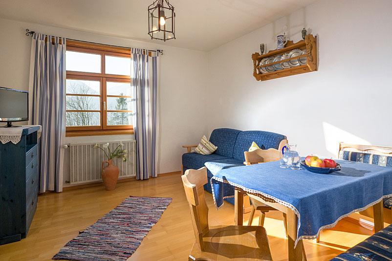 Ferienwohnungbeispiel im Berggasthof Hummelei in Oberaudorf