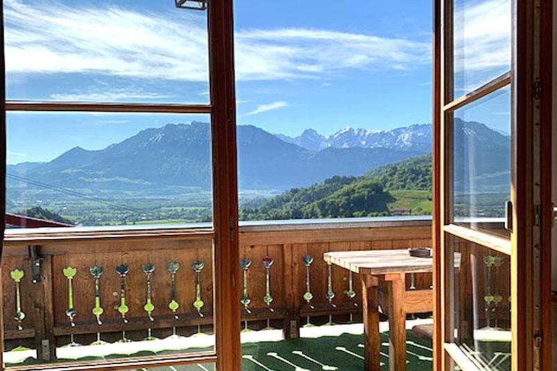 Zimmerbeispiel, Berggasthof Hummelei in Oberaudorf