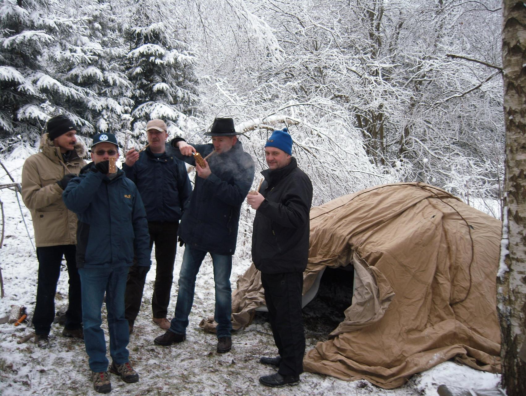 Schwitzhütte 2015