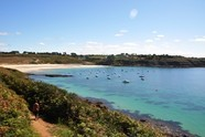 coastal path GR34 Ploumoguer blue idea rental accomodations