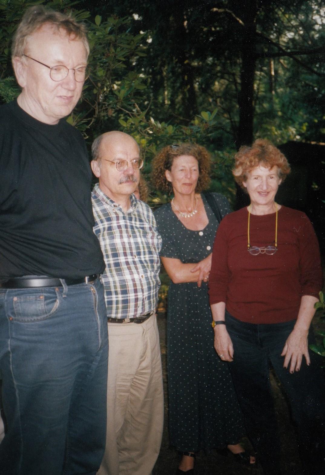 Ullrich Motz, Michael Schröter, Mirella Baldanza und Ulrike May