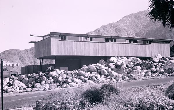 1955 Franz Alexanders Haus in Palm Springs