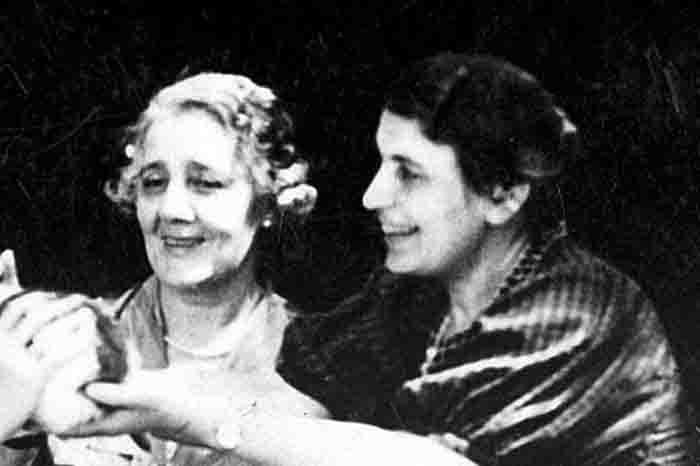 Melanie Klein und Anna Freud