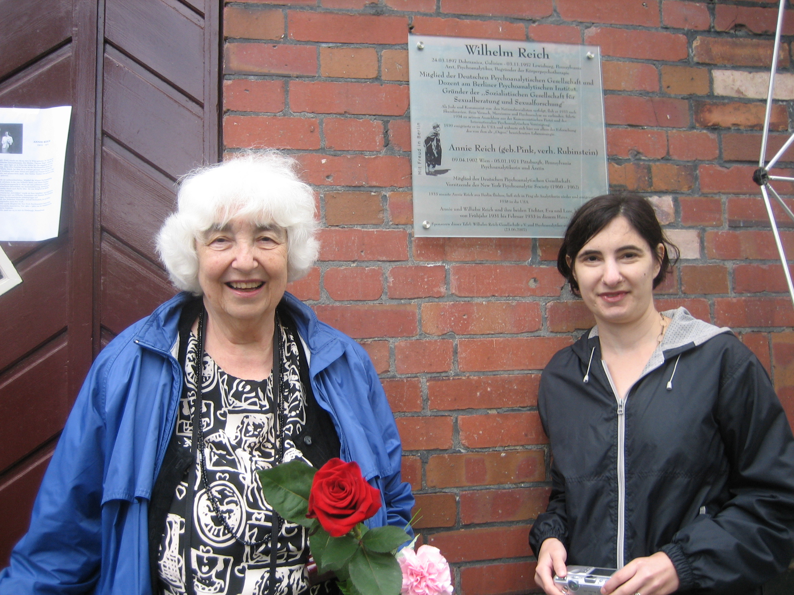 Lore Reich-Rubin und ihre Enkelin Erica