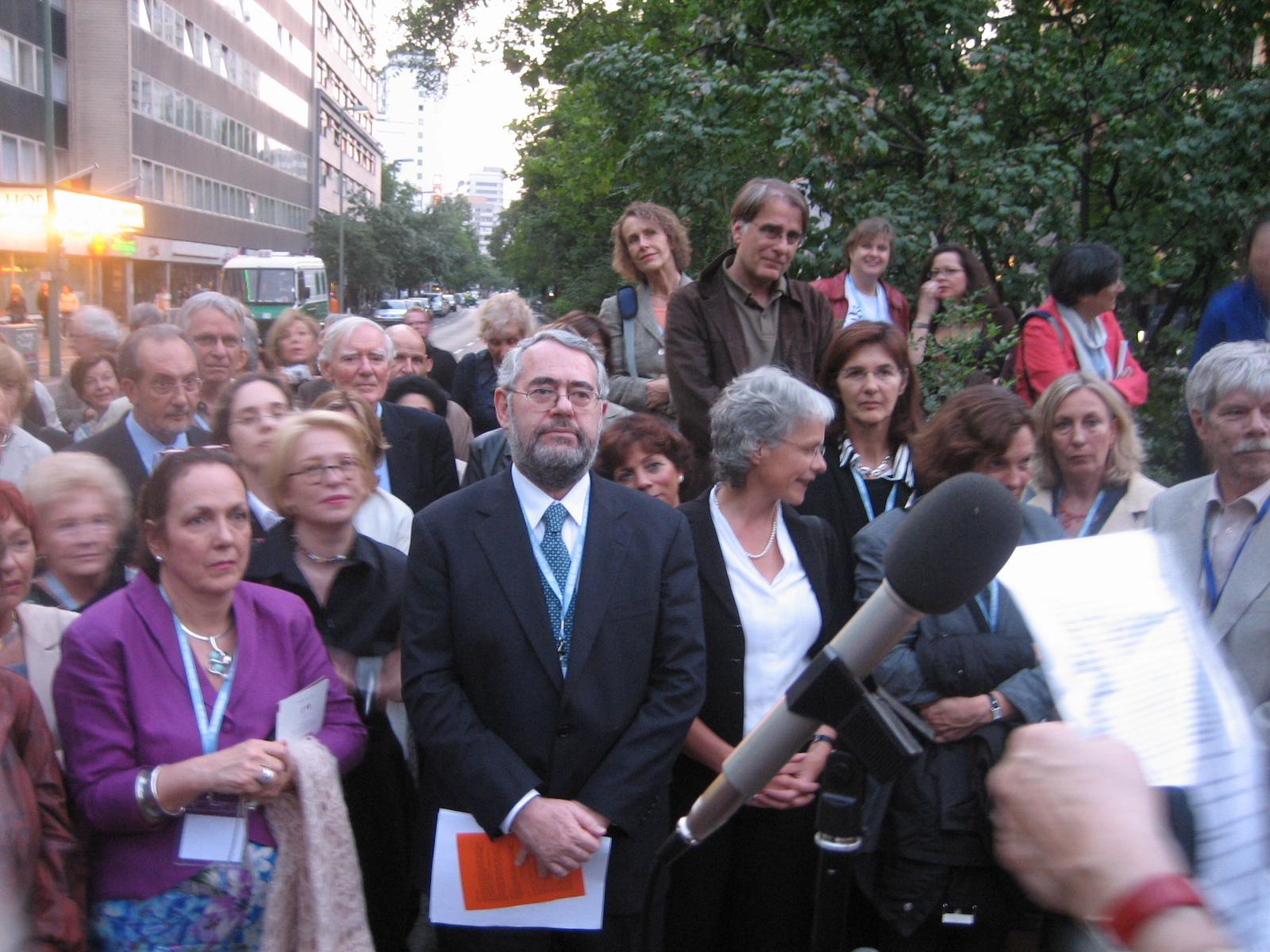 Dr. Claudio Laks Eizirik, Präsident der IPA (2005-2009)