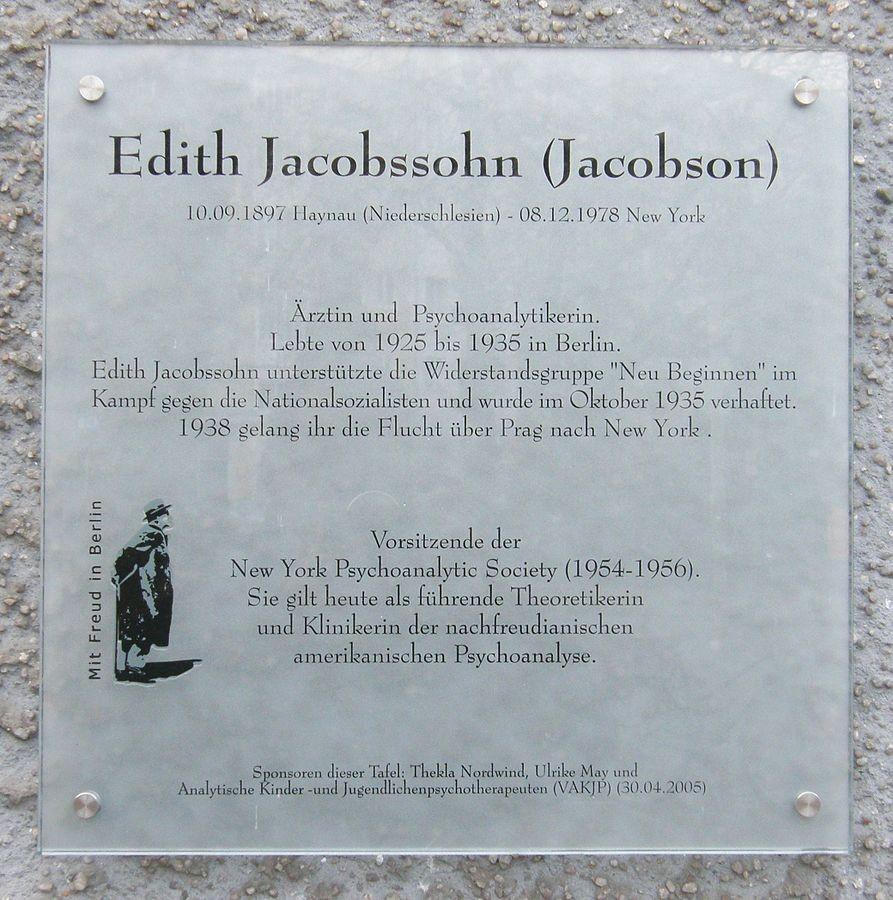 Edith Jacobssohn