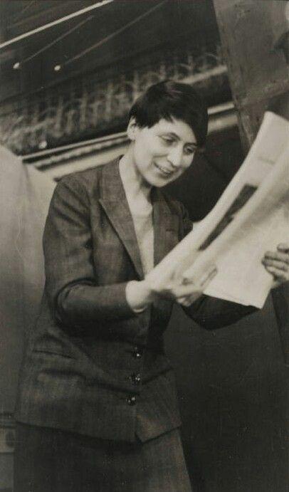 """Winifred Ellerman """"Bryher"""". 1929"""