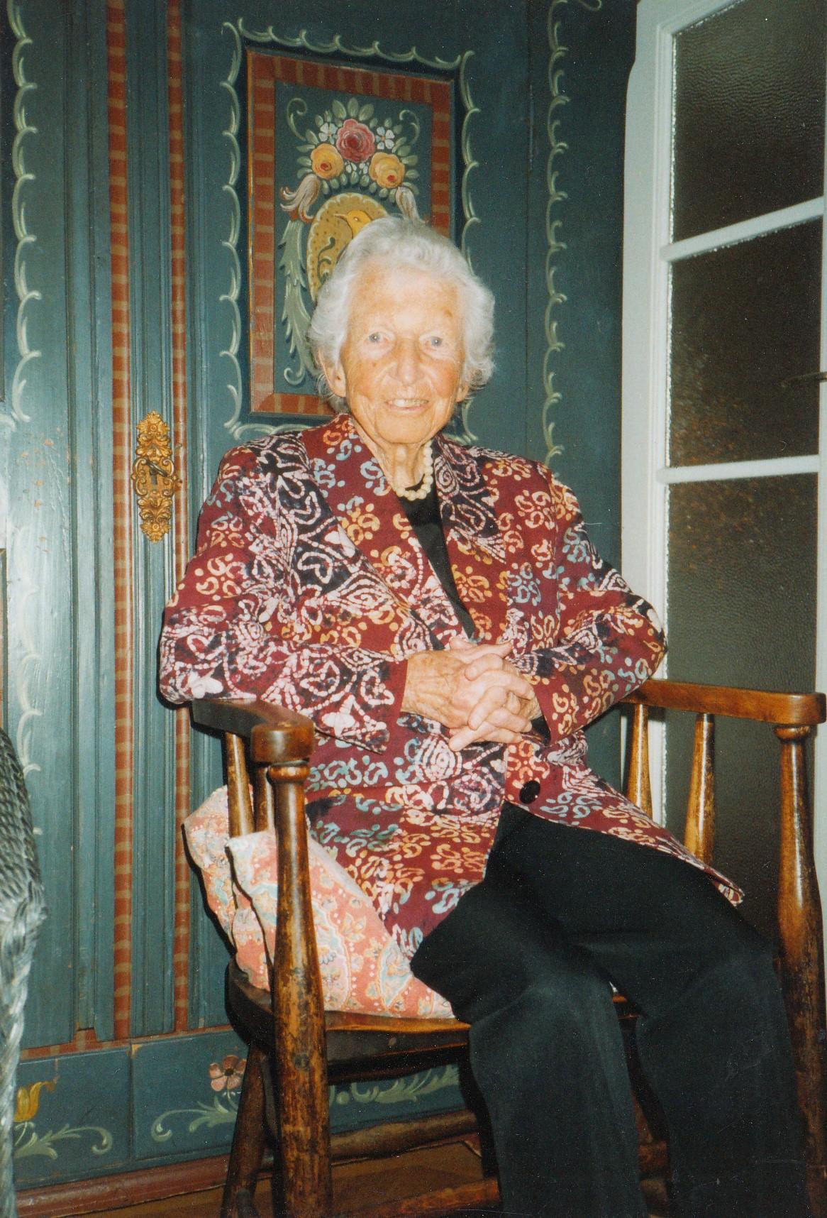 Marianne Horney- Eckardt, 2004