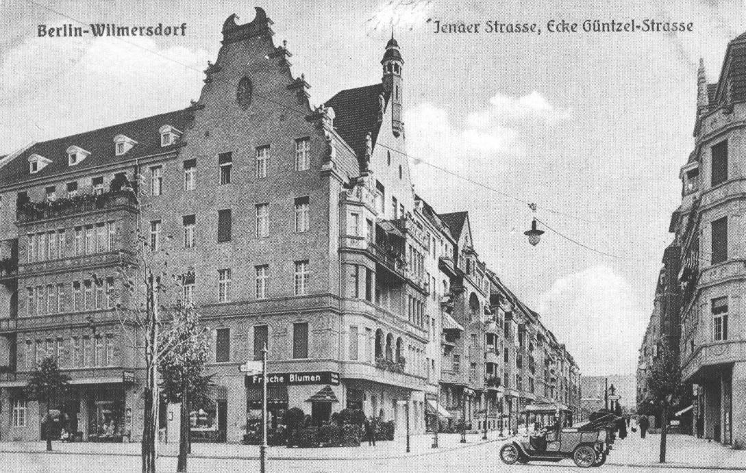 Postkarte, Kunstverlag J. Goldiner, Berlin (J.G.B.)