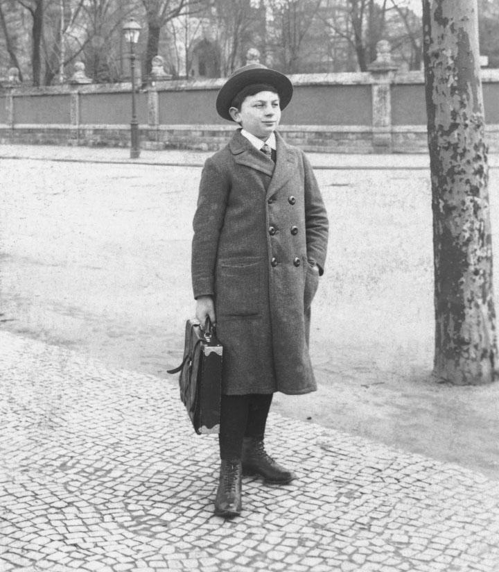 Erich Fromm als Schüler