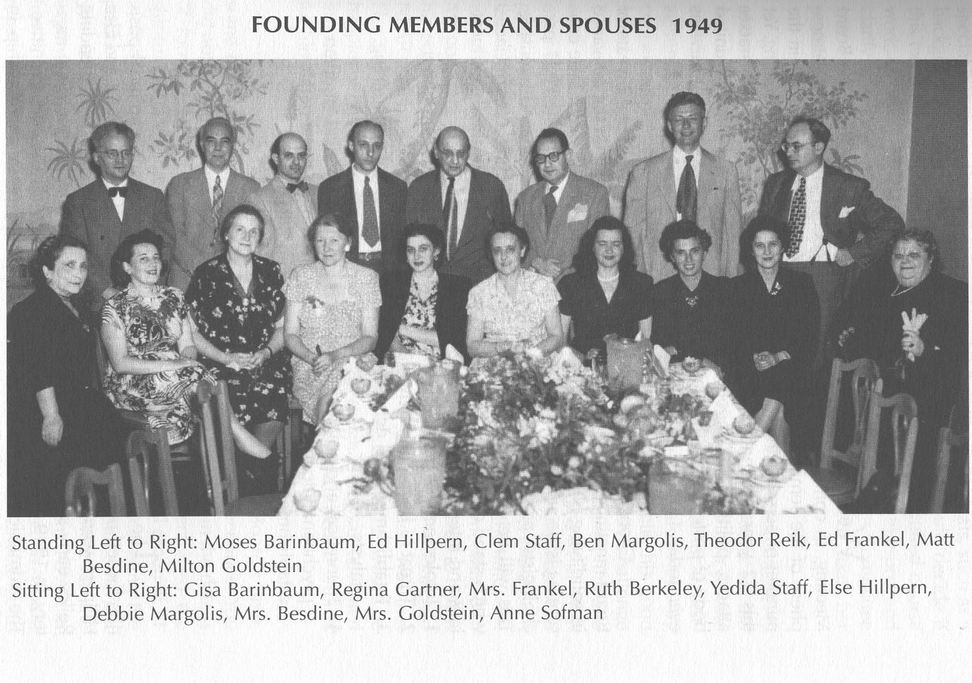 1949 Gründungsversammlung der NPAP