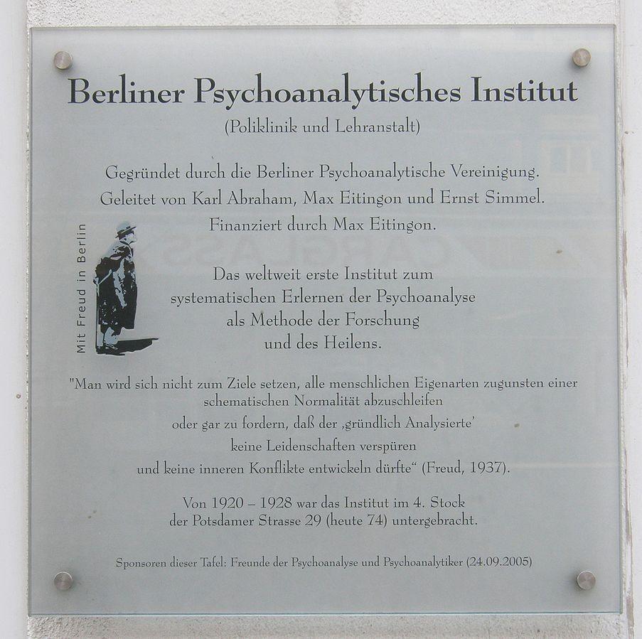 Berliner Psychoanalytisches Institut I