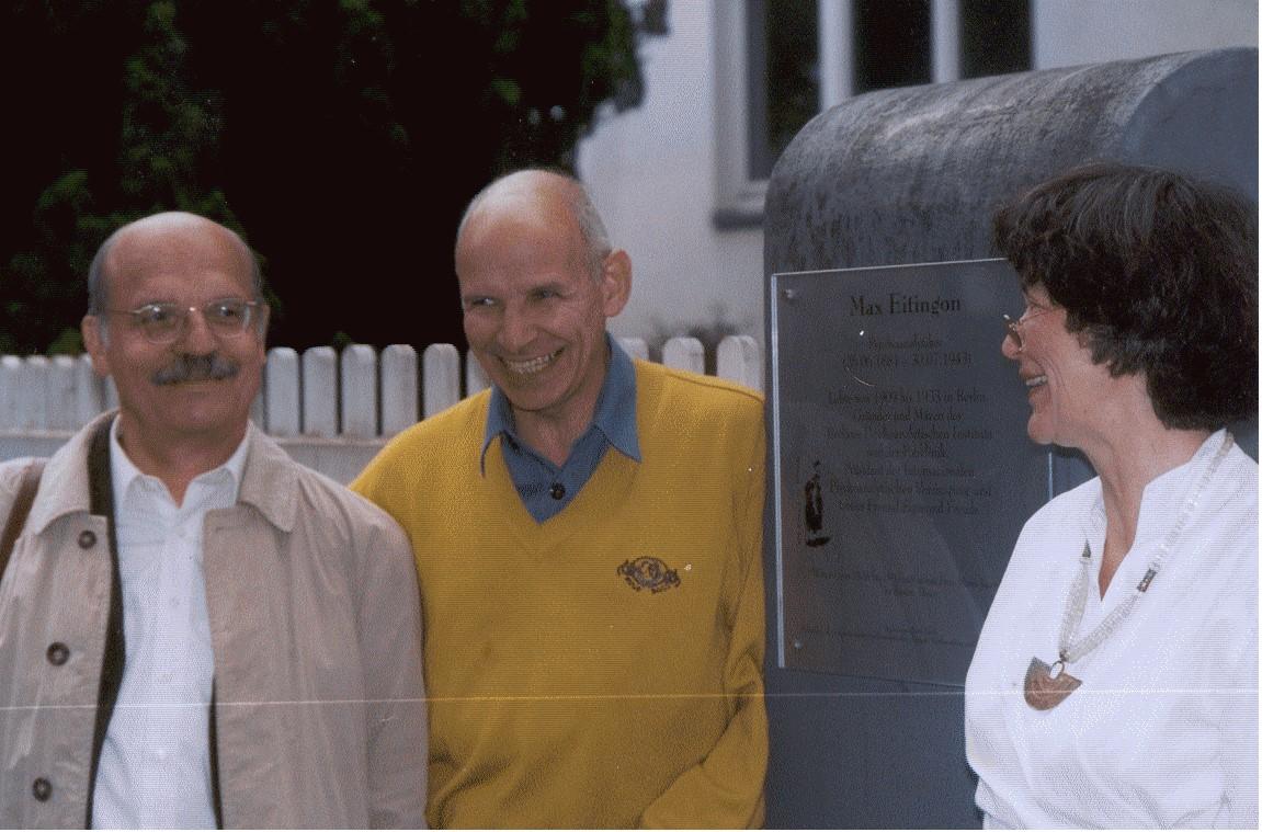Michael Schröter, Ludger Hermanns und Regine Lockot