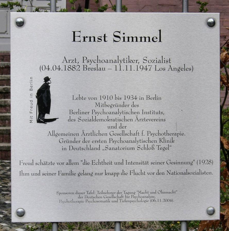 Ernst Simmel