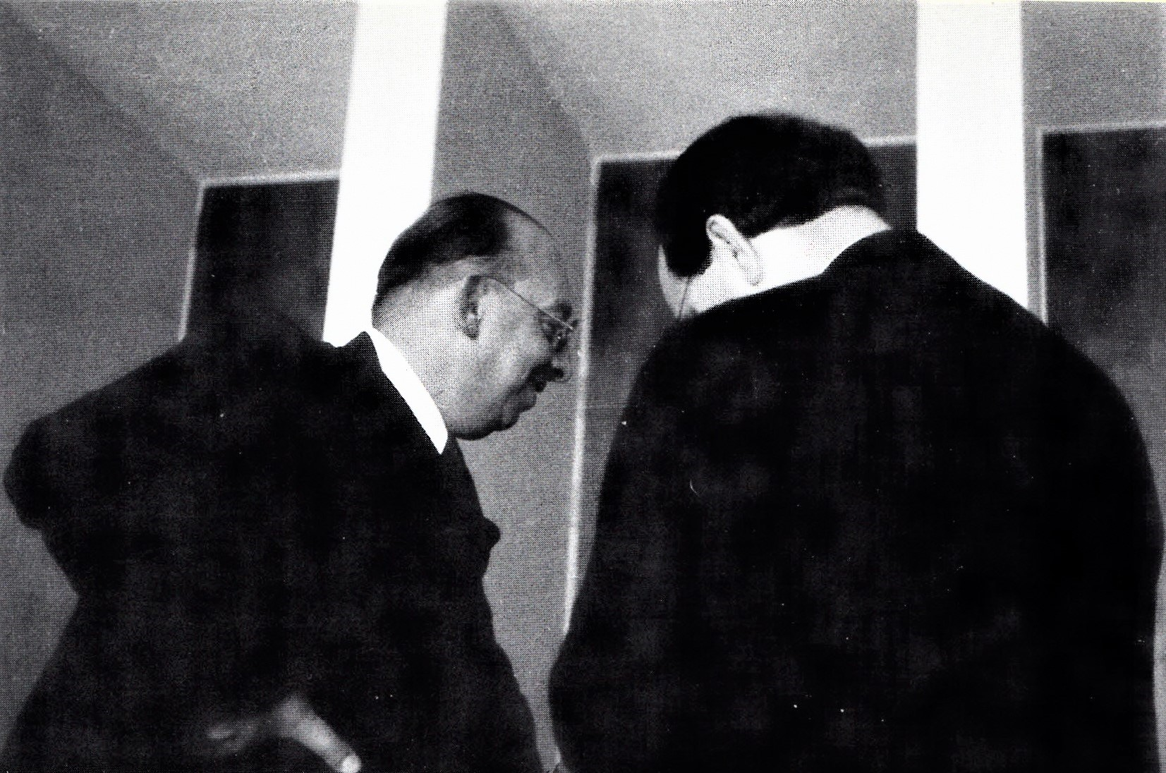 Hanns Sachs beim IPV-Kongress 1934 Luzern