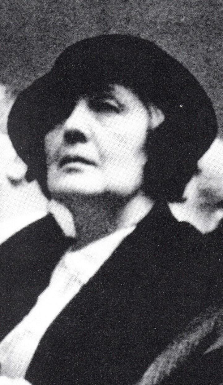 Melanie Klein 1934(Ausschnitt)