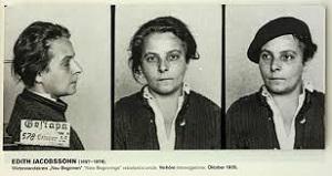 3. Edith Jacobssohn in Haft