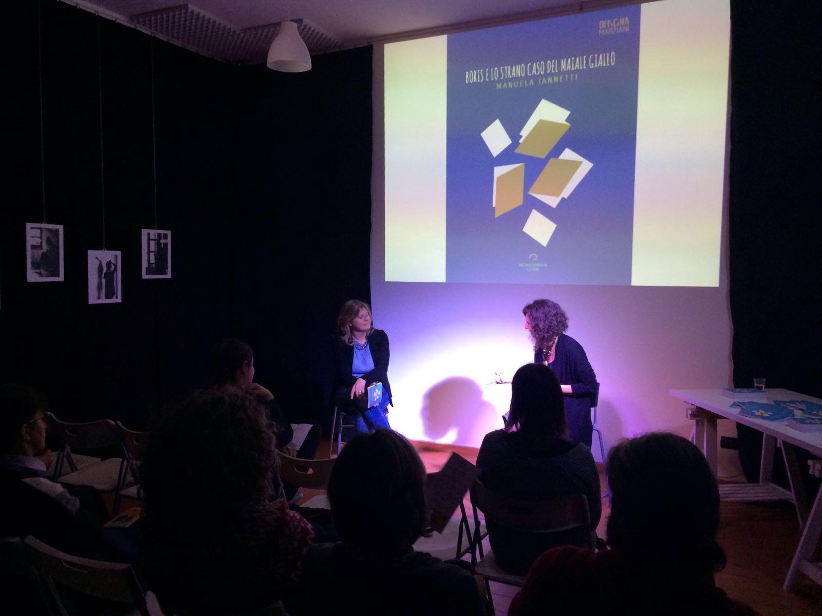 Foto di Silvia Mercuriati - presentazione del libro di MANUELA IANNETTI 2018