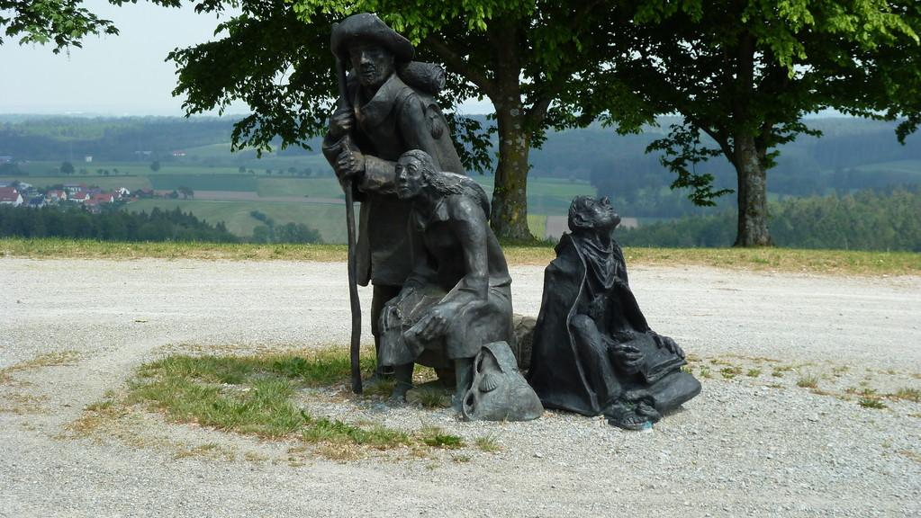 Auf dem Jakobusweg zum Hohenberg