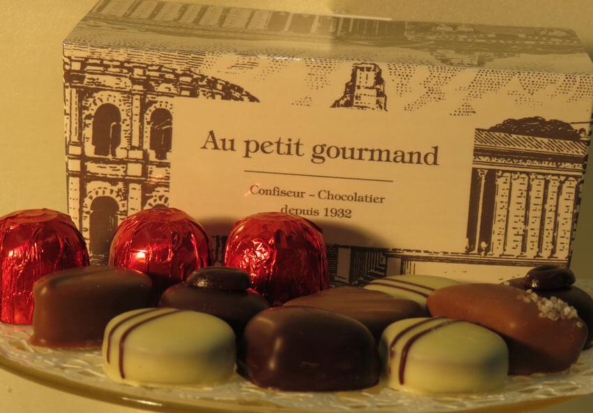 assortiment de chocolat