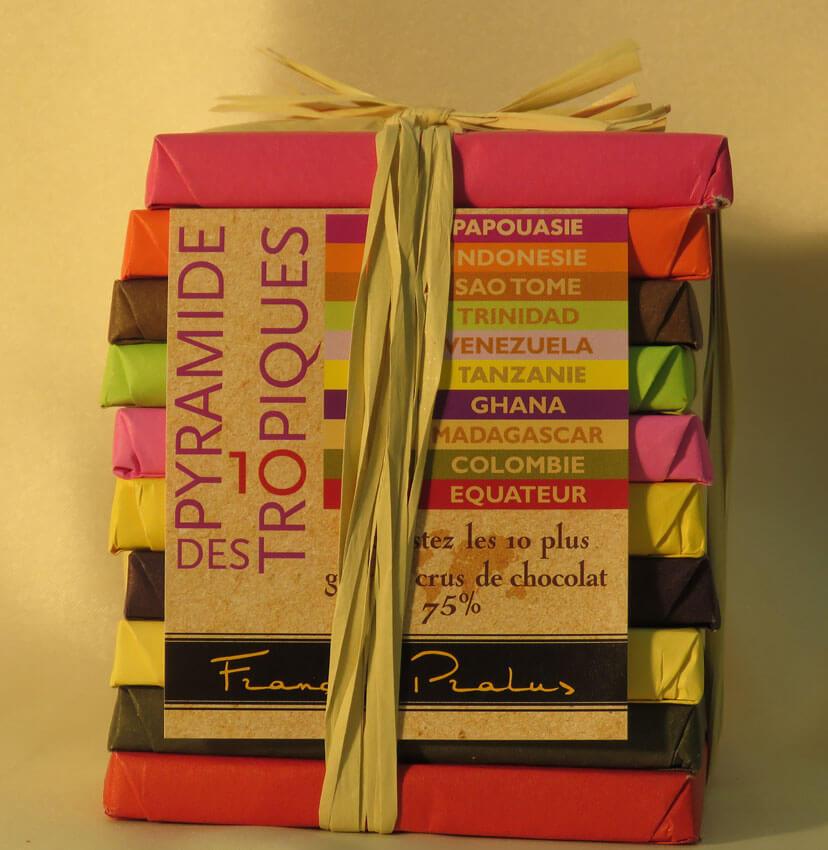 pyramide de chocolat