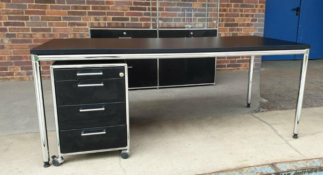 Büromöbel BOSSE Schreibtisch Rollcontainer Büroschrank