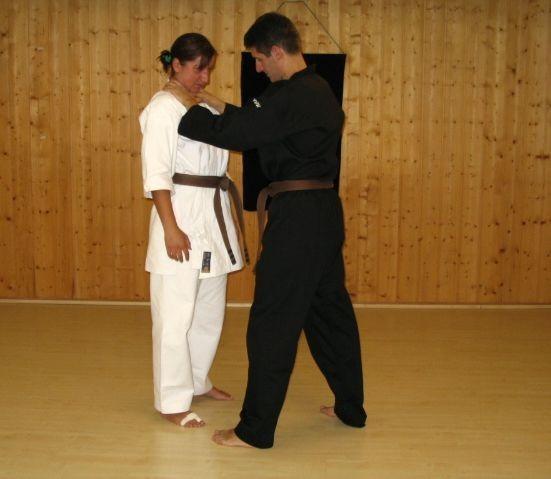 Selbstverteidigung im Shorin Kan Dojo Sonthofen