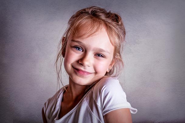 Kinderportrait bei Familienfotograf