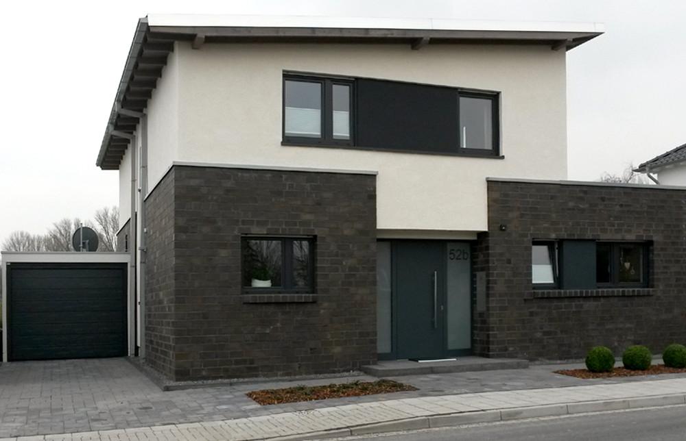 BV Korschenbroich / 001 - Massivbau - Rohbauerstellung - Klinkerarbeiten