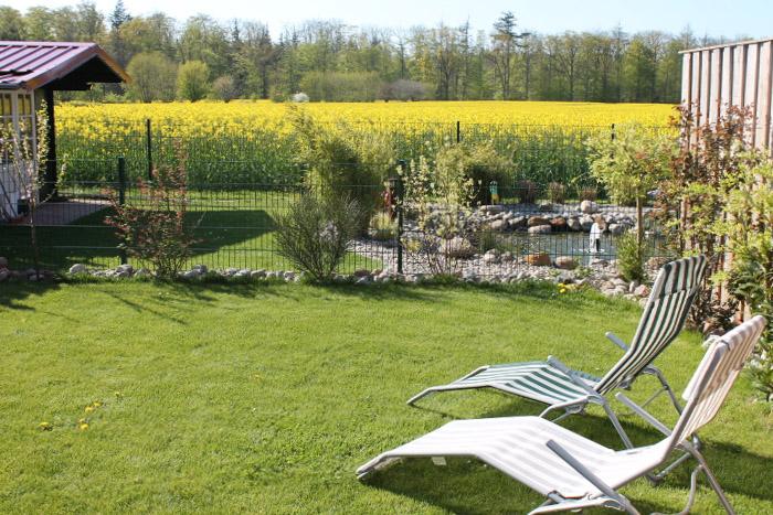 Der Blick vom Garten
