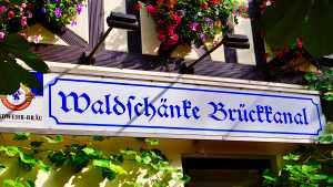 Biergarten Brückkanal