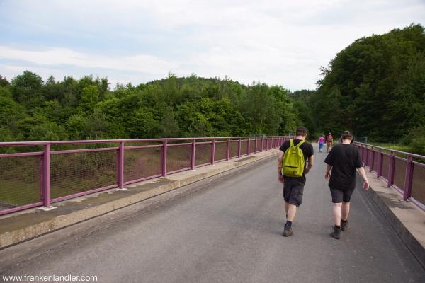 die letzten Kilometer zurück nach Plech