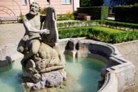 Baroque Garden in Nuremberg Johannis