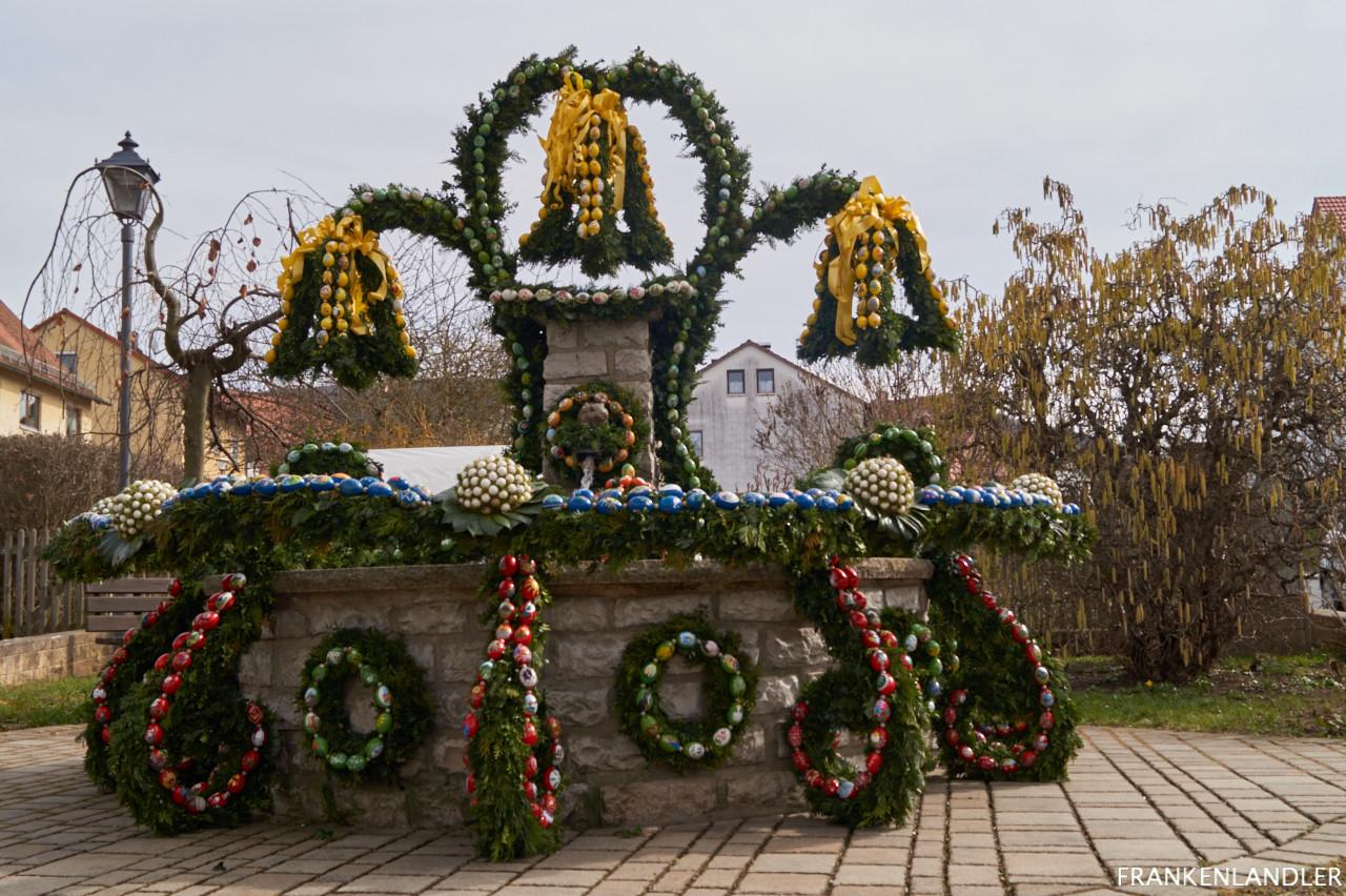 Osterbrunnen Diepersdorf