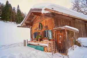 Schneeschuwanderung Hutzenalm