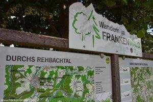 FrankenwaldSteigla: Durchs Rehbachtal