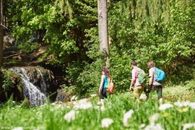 Wasserfall in Franken