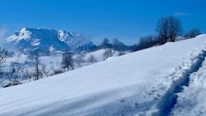 Winterwanderung Hutzenalm
